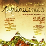 Affiche PYRENICIMES 2014 by Seb Cazes